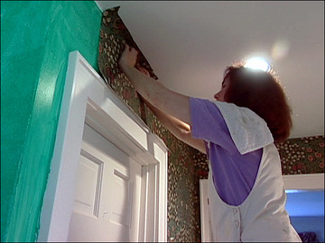 how to remove old wallpaper paste from plaster walls